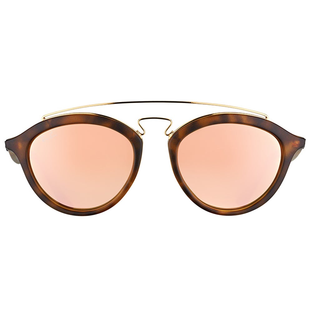 42a60aaeb5 Shop Ray-Ban RB 4257 60922Y Gatsby II Matte Havana Plastic Fashion Pink Mirror  Lens Sunglasses - Free Shipping Today - Overstock - 11980329