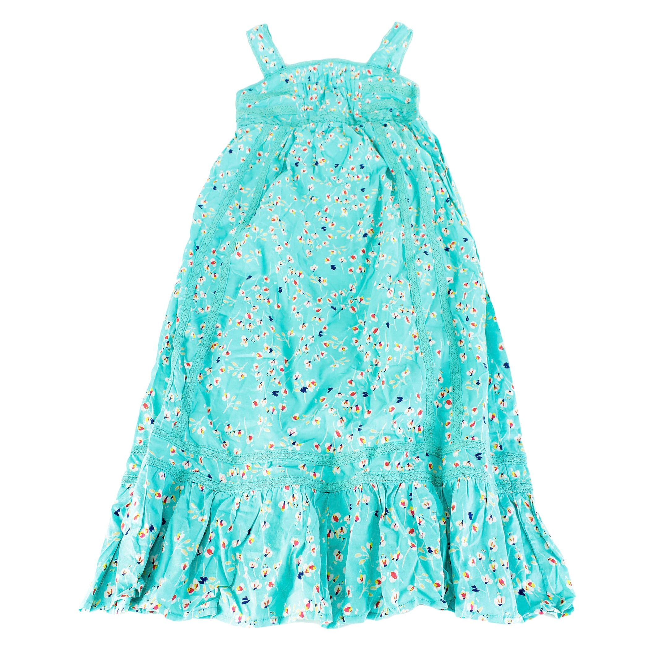 6dafad6f9785b Shop Jessica Simpson Girls' Green Cotton Size S U.S. Regular Full-length  Dress - Free Shipping On Orders Over $45 - Overstock - 11982034