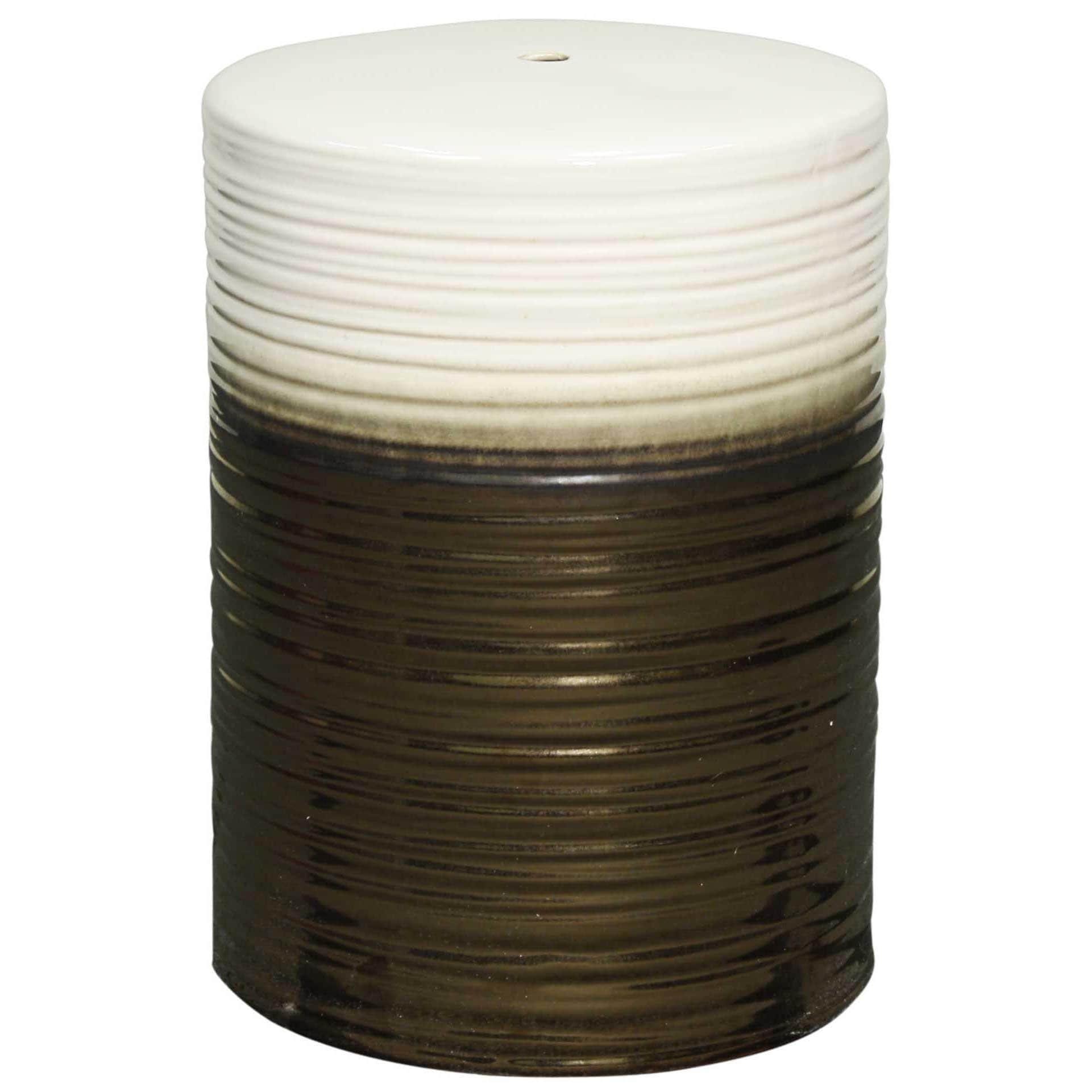 Shop Multicolor Swirl Ceramic Garden Stool - Free Shipping Today ...