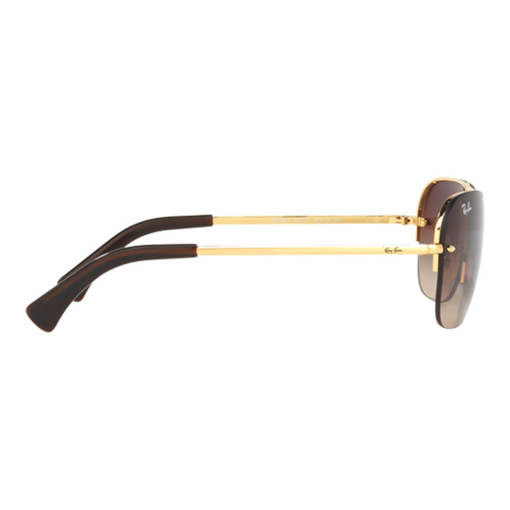 9b1b9a705a534 Shop Ray-Ban Men s RB3541 001 13 Gold Metal Rectangle Sunglasses - Free  Shipping Today - Overstock - 11996084