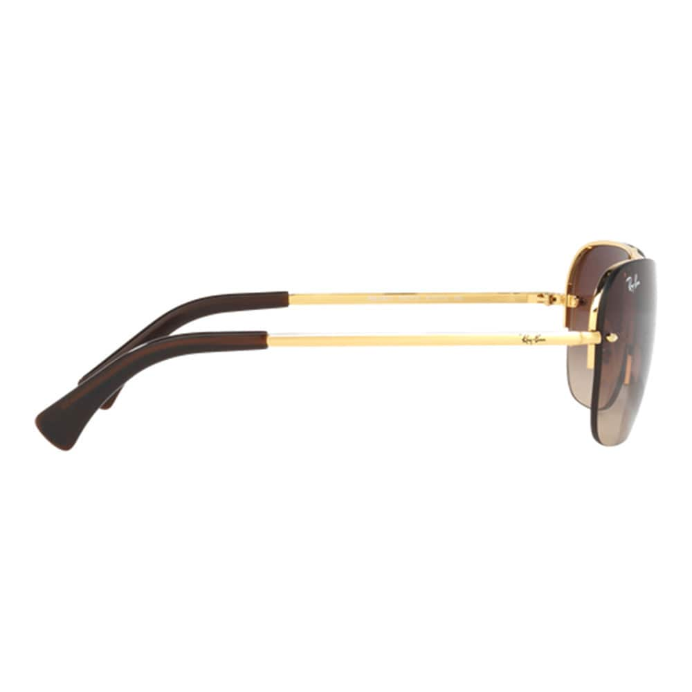 2287a5f4a3 Shop Ray-Ban Men s RB3541 001 13 Gold Metal Rectangle Sunglasses - Free  Shipping Today - Overstock - 11996084