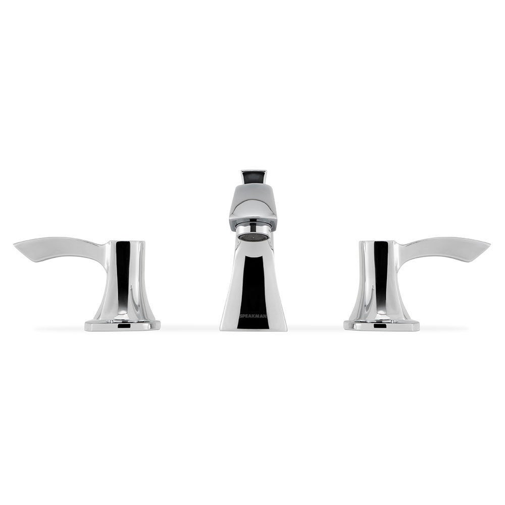Shop Tiber 8-inch Widespread Bathroom Faucet - Free Shipping Today ...