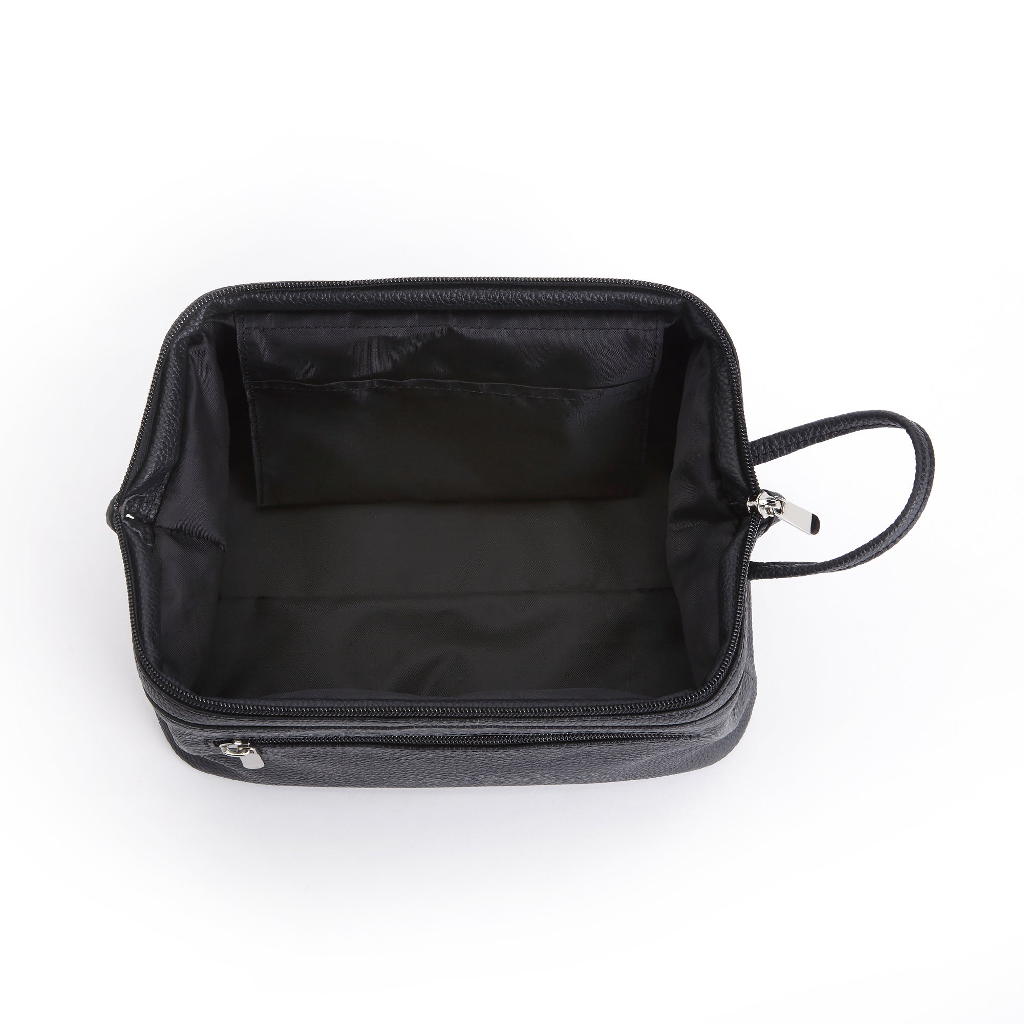 2d5f083951db Shop Royce Pebbled Genuine Leather Toiletry Travel Wash Bag - On Sale -  Free Shipping Today - Overstock - 11997588
