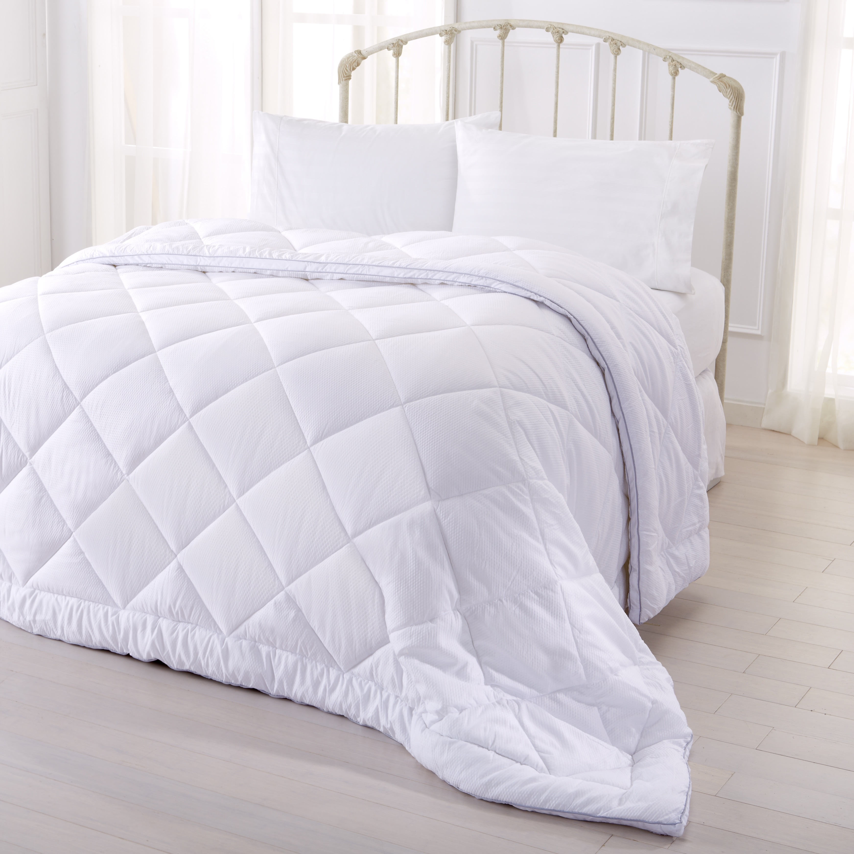 premier product microfiber shipping over down orders on free osleep bedding season all bath comforter reviews overstock alternative
