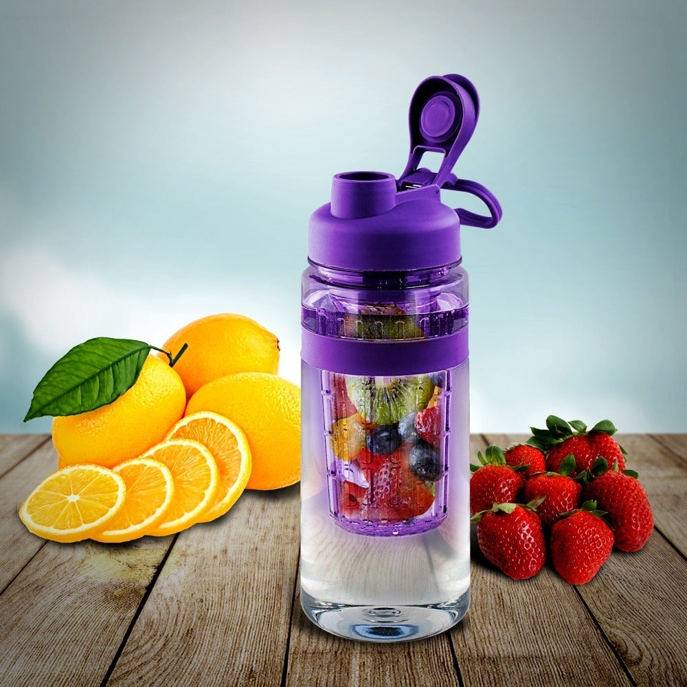 Tritan 32 Ounce Fruit Infuser Water Bottle New Infusd Shop On Sale Free Shipping Orders Over 45 11998540