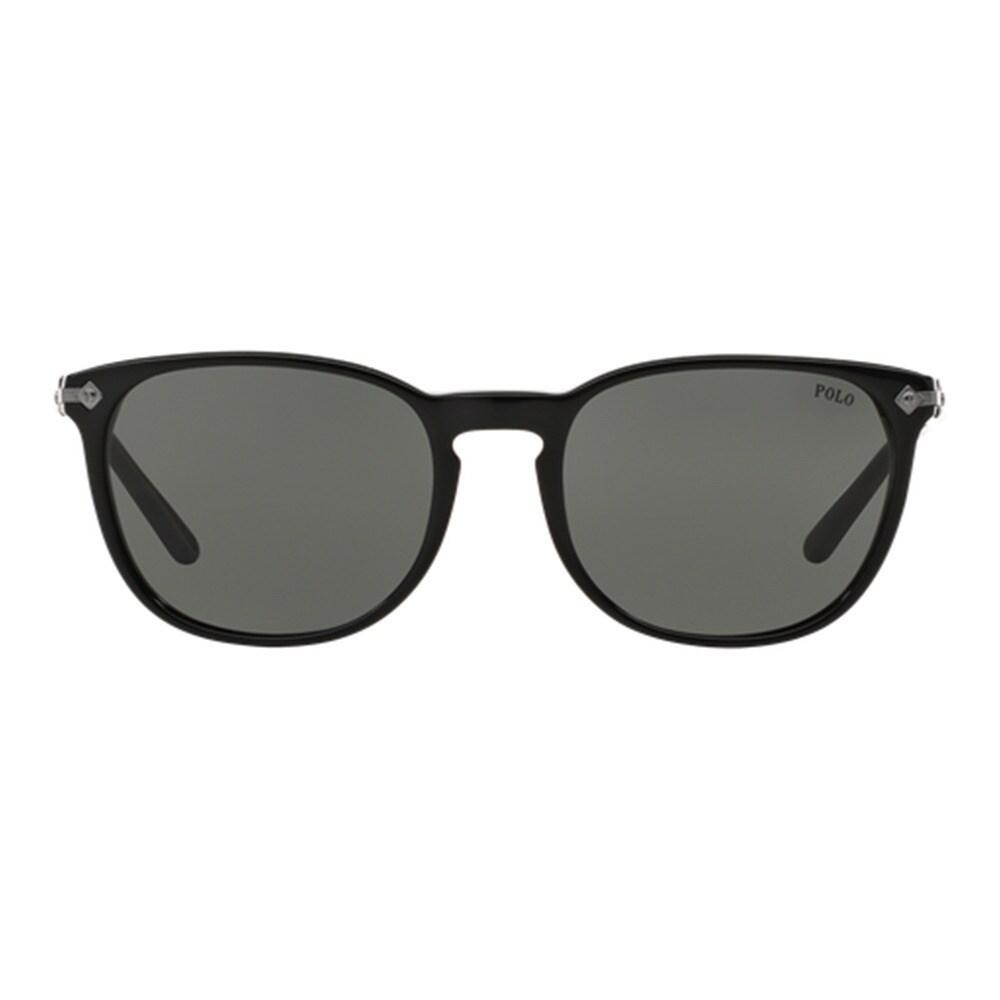 3bc3e9e5ed10 Shop Polo Ralph Lauren Men's PH4107 500187 Black Plastic Phantos Sunglasses  - Free Shipping Today - Overstock - 11998771