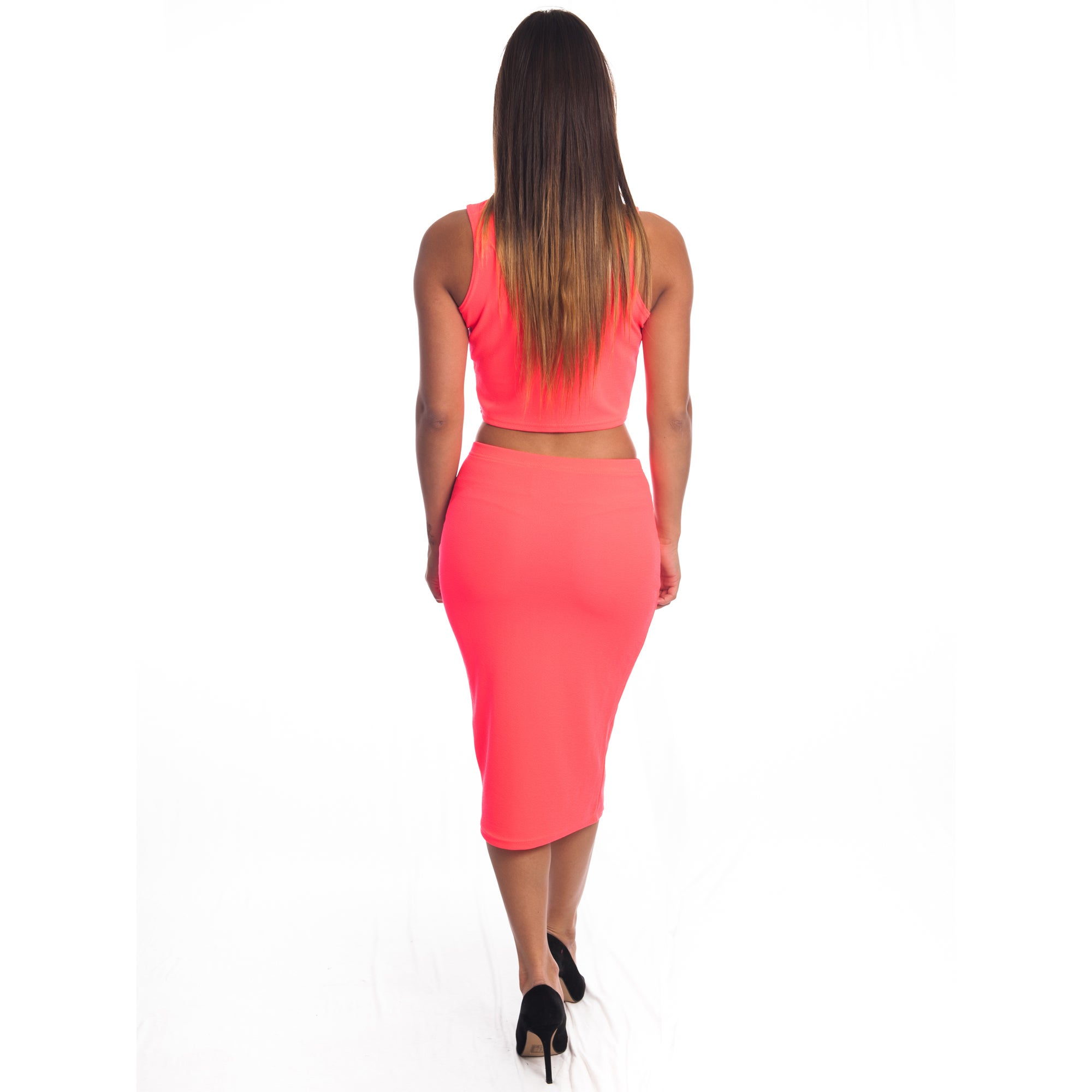 bb24298998 Shop Special One Women's 2-piece Bodycon Crop Top and Miniskirt Outfit -  Free Shipping On Orders Over $45 - Overstock - 11999359