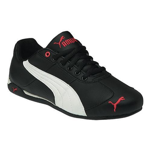 Women's PUMA Repli Cat III L BlackWhiteRaspberry