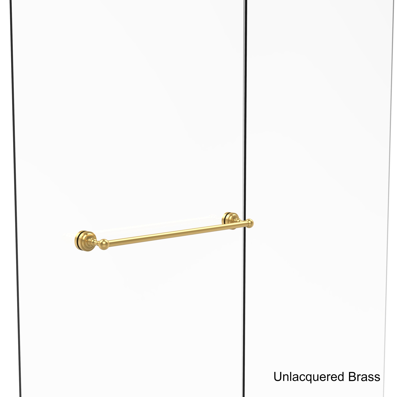 Shop Allied Brass Dottingham Collection 24 Inch Shower Door Towel