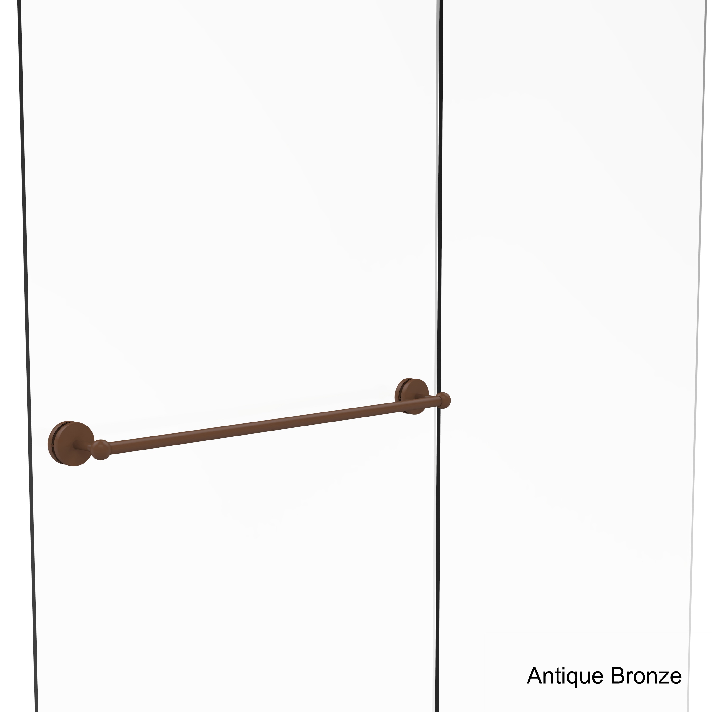 Shop Allied Brass Prestige Skyline Collection 30 Inch Shower Door