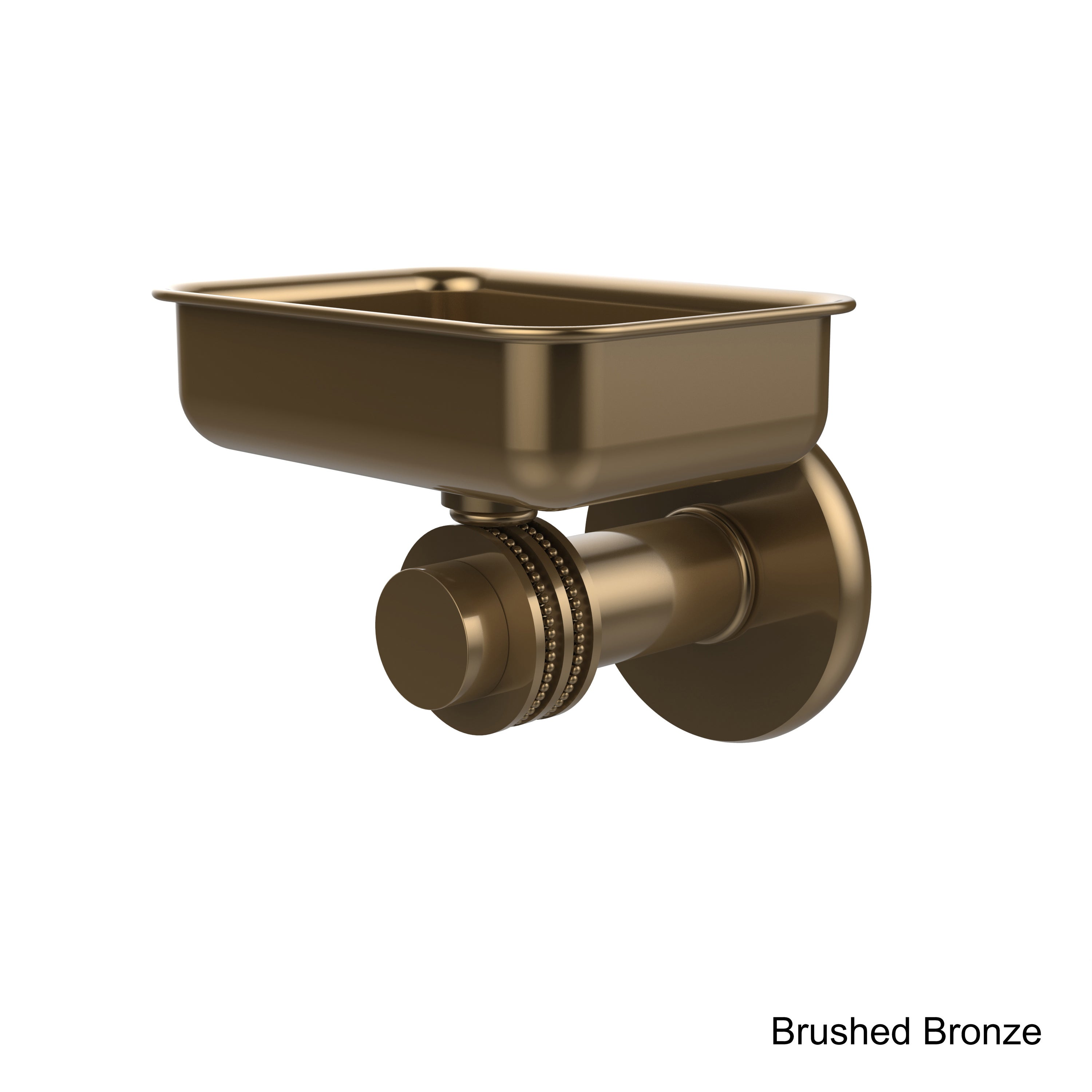 Shop Allied Brass Mercury Collection Wall-mounted Soap Dish - Free ...