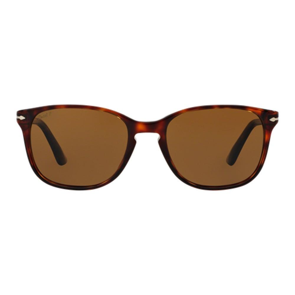 5ad4a2dc28 Shop Persol Men s PO3133S 901557 Havana Plastic Square Polarized Sunglasses  - Tortoise - Free Shipping Today - Overstock - 12005060
