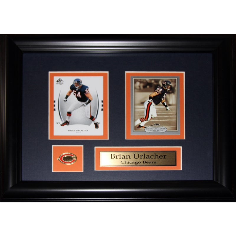 Shop Brian Urlacher Chicago Bears 2-card Frame - Free Shipping Today ...