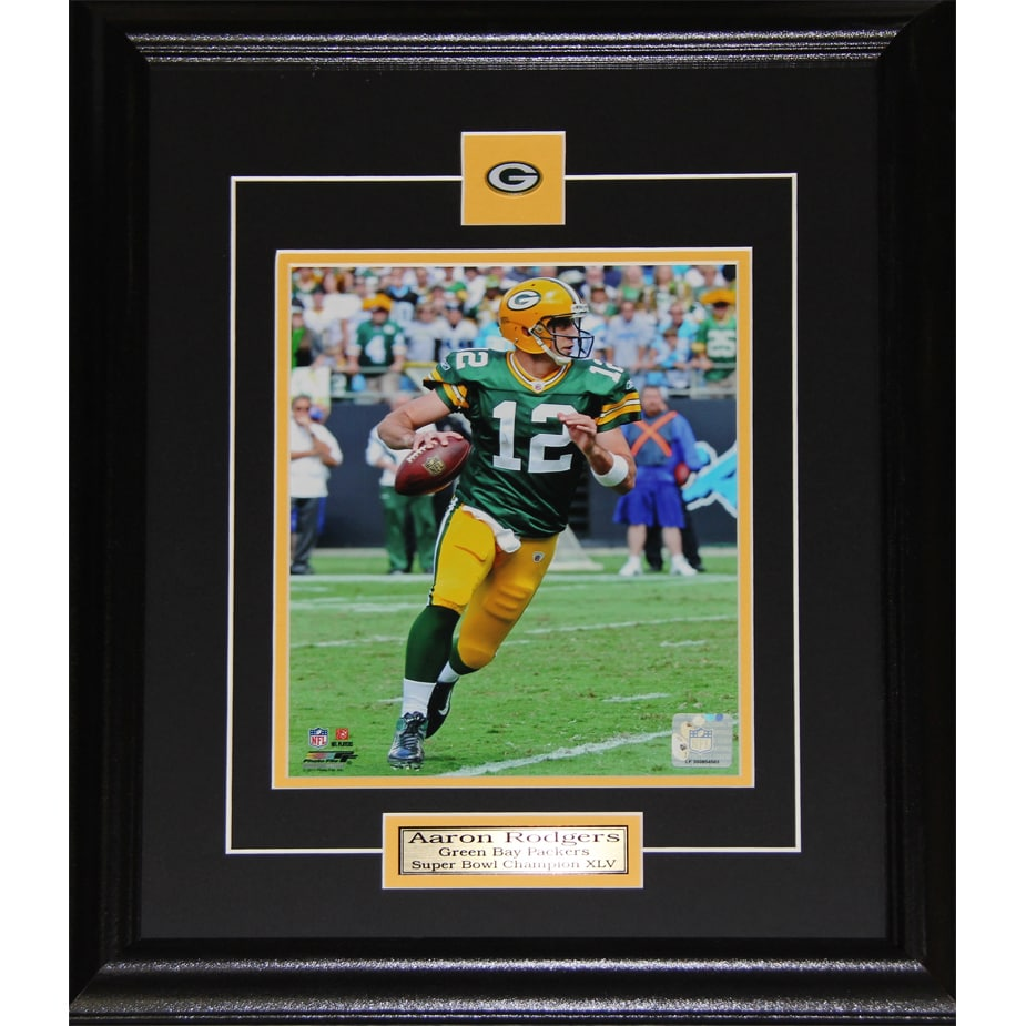 72e8ba58e Shop Aaron Rodgers Green Bay Packers 8x10-inch Frame - Free Shipping Today  - Overstock - 12006523