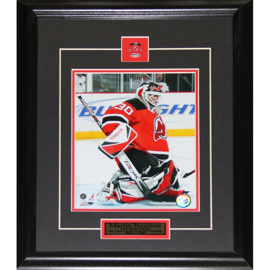 Martin Brodeur New Jersey Devils 8x10 Inch Frame