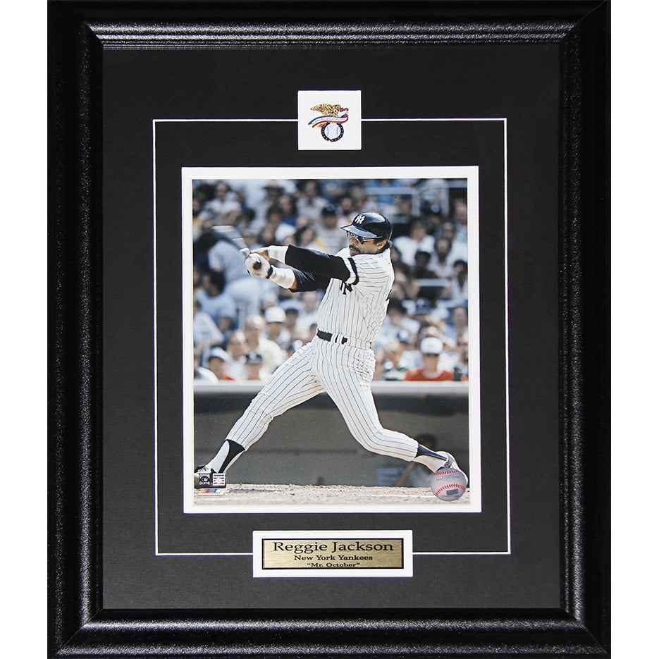 Shop Reggie Jackson Mr. October New York Yankees 8x10-inch Frame ...