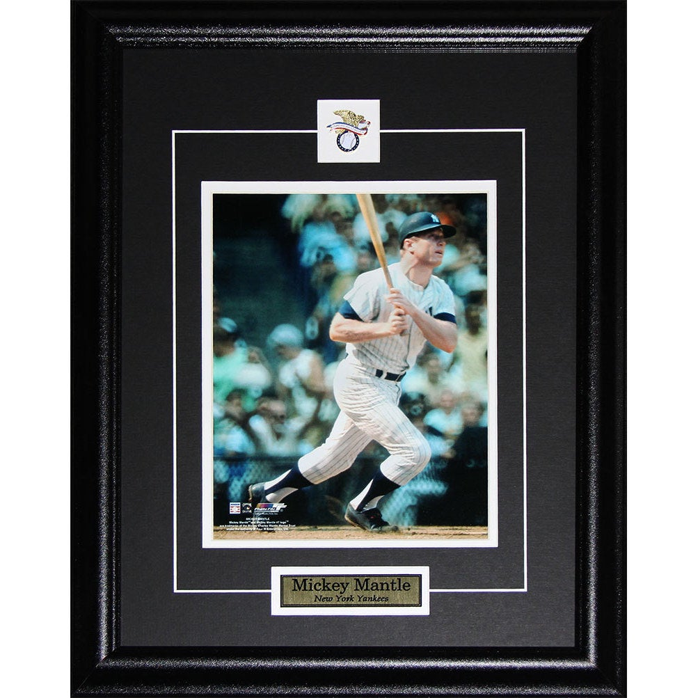 Shop Mickey Mantle New York Yankees 8x10-inch Frame - Free Shipping ...