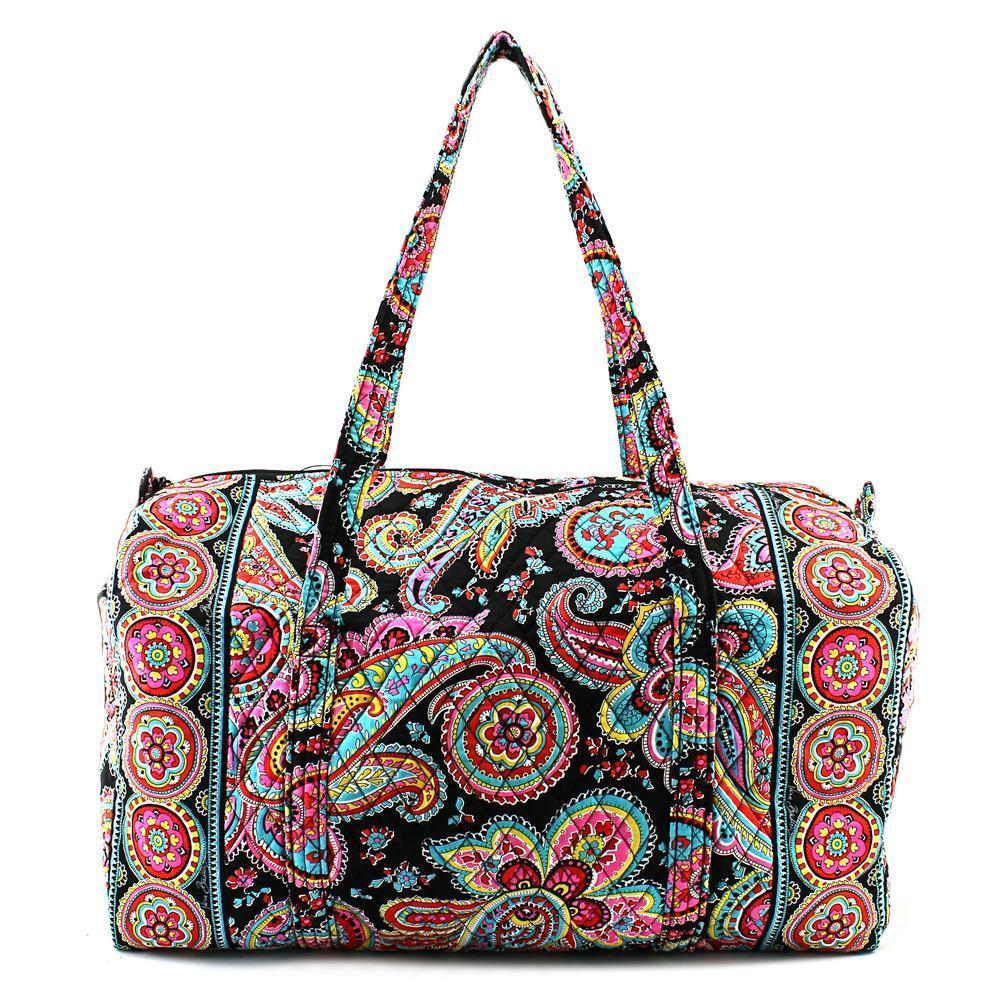 e4aec8f58d79 Shop Vera Bradley Women s Kathy Fabric Handbag - Free Shipping Today ...