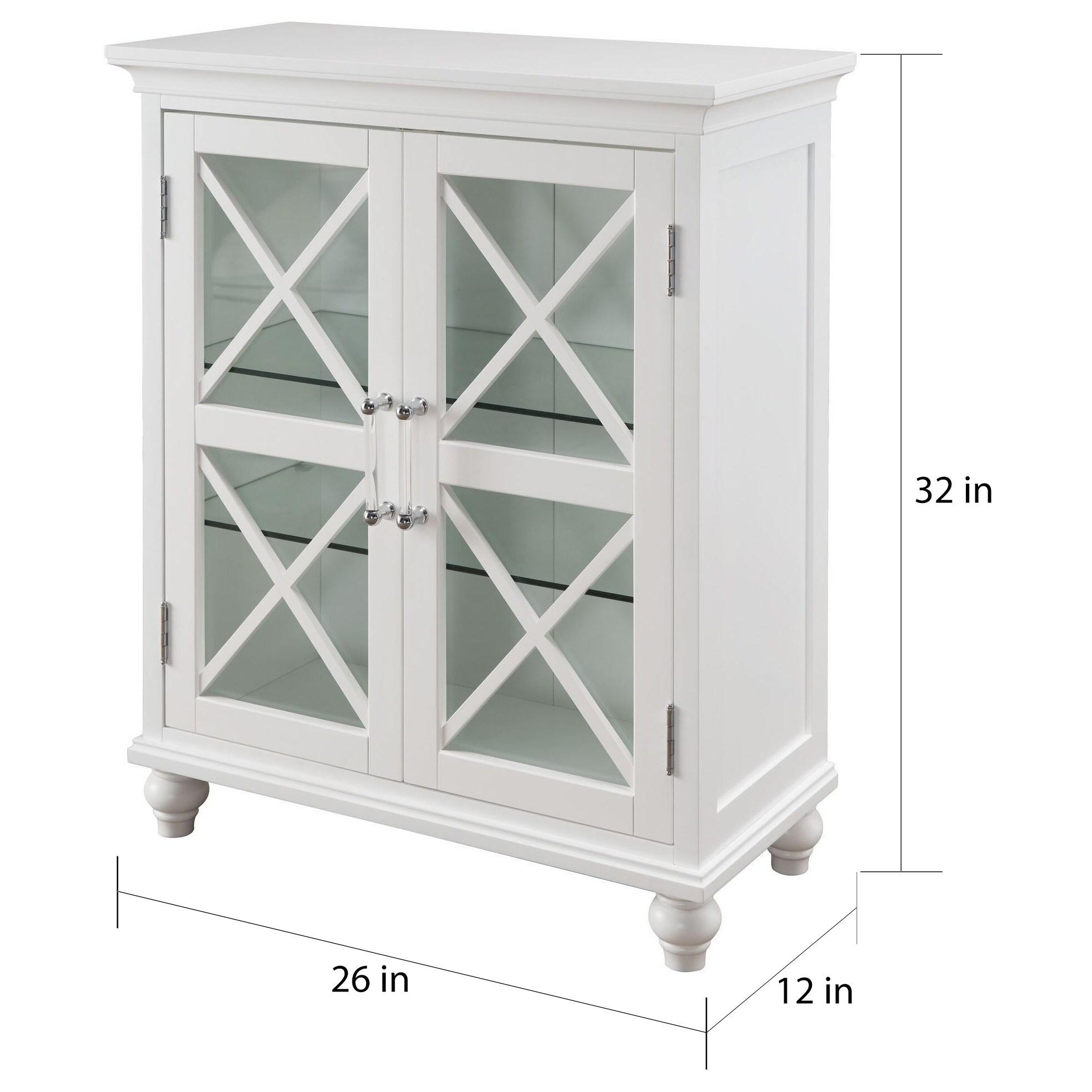 Bathroom Cabinet / Bathroom Storage Cabinet Grayson White Corner ...