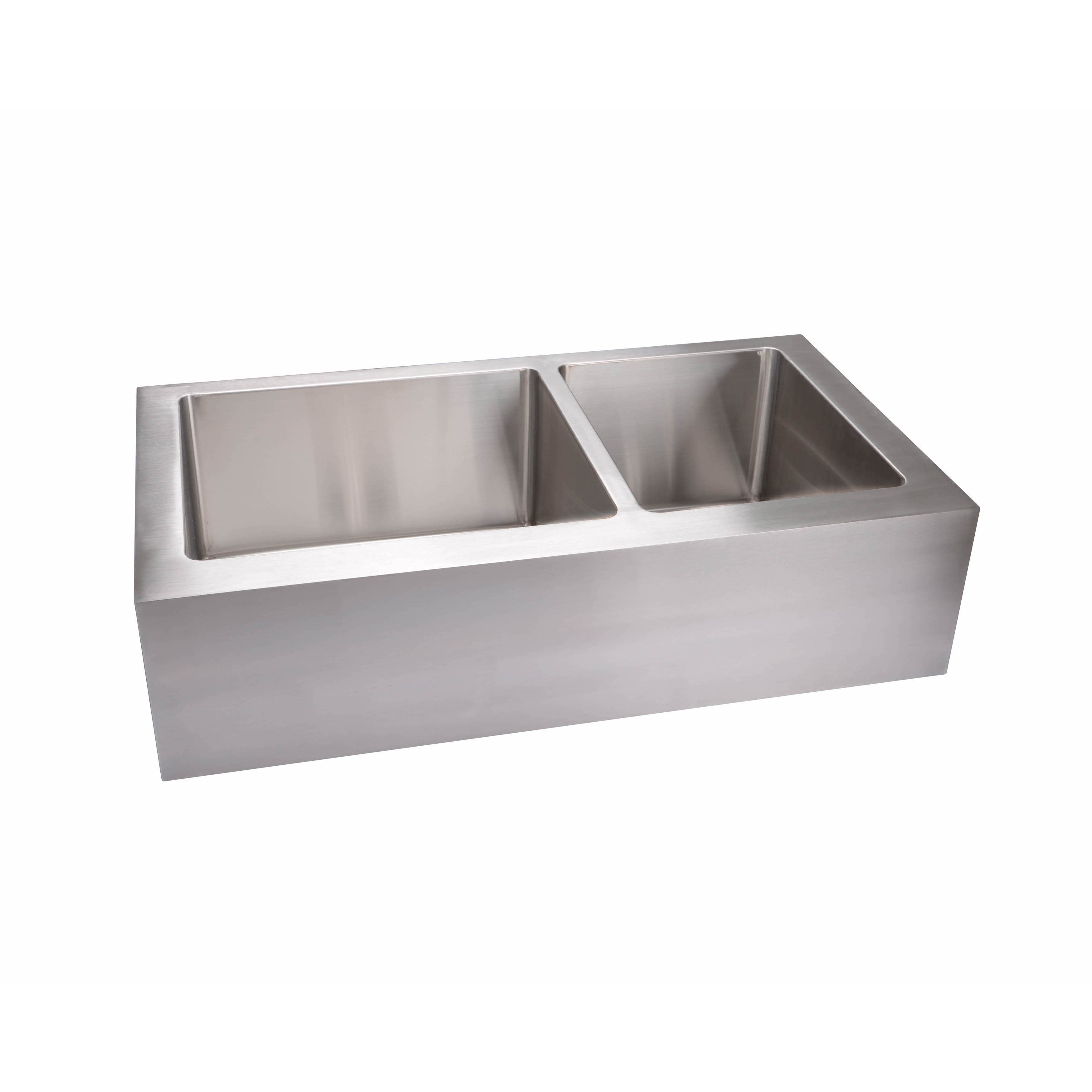 Large Bowl Kitchen Sink Hahn extra large 6040 flat apron double bowl kitchen sink free hahn extra large 6040 flat apron double bowl kitchen sink free shipping today overstock 18884848 workwithnaturefo