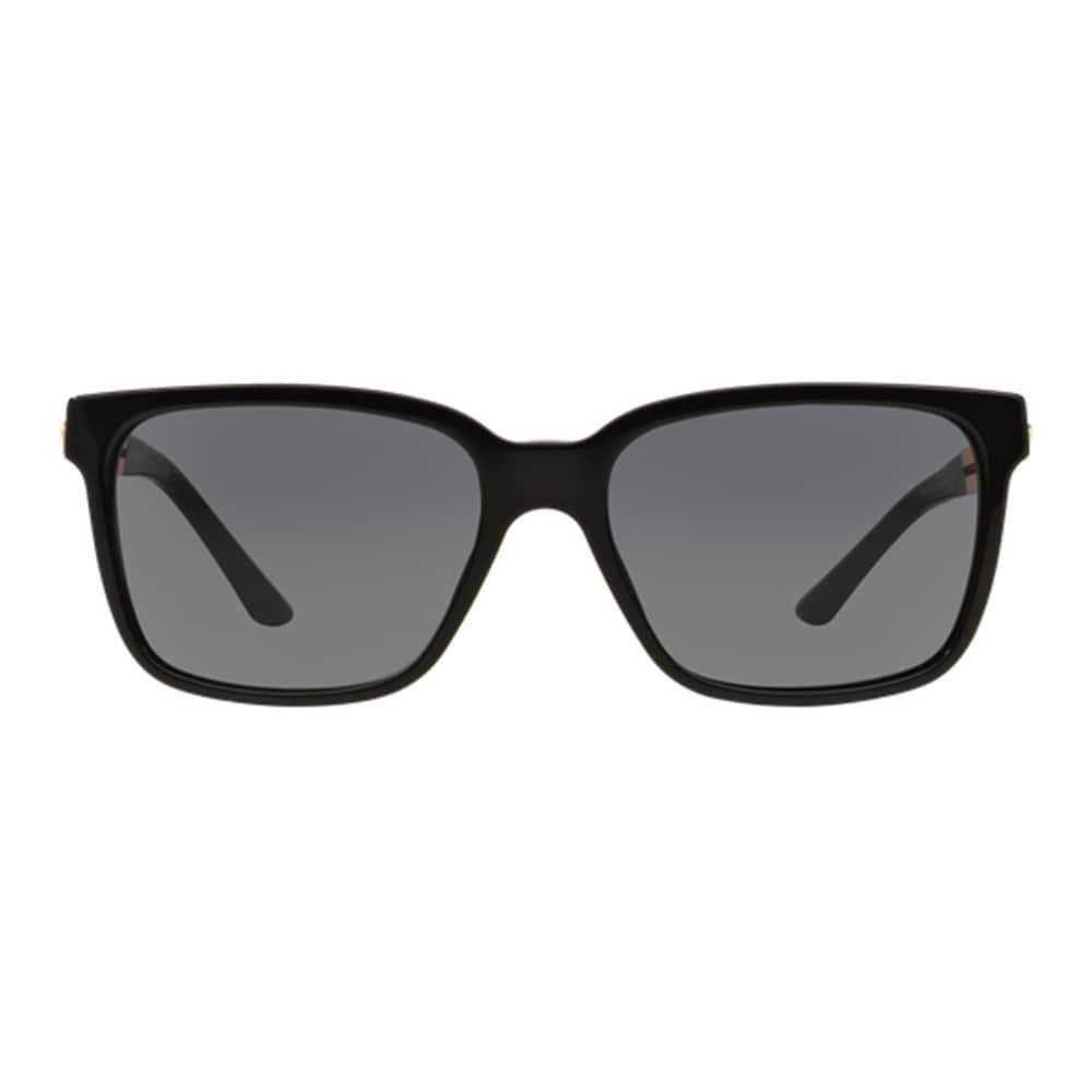 4f5817c2877 Shop Versace Men s VE4307 GB1 87 Black Plastic Square Sunglasses - Free  Shipping Today - Overstock - 12009381