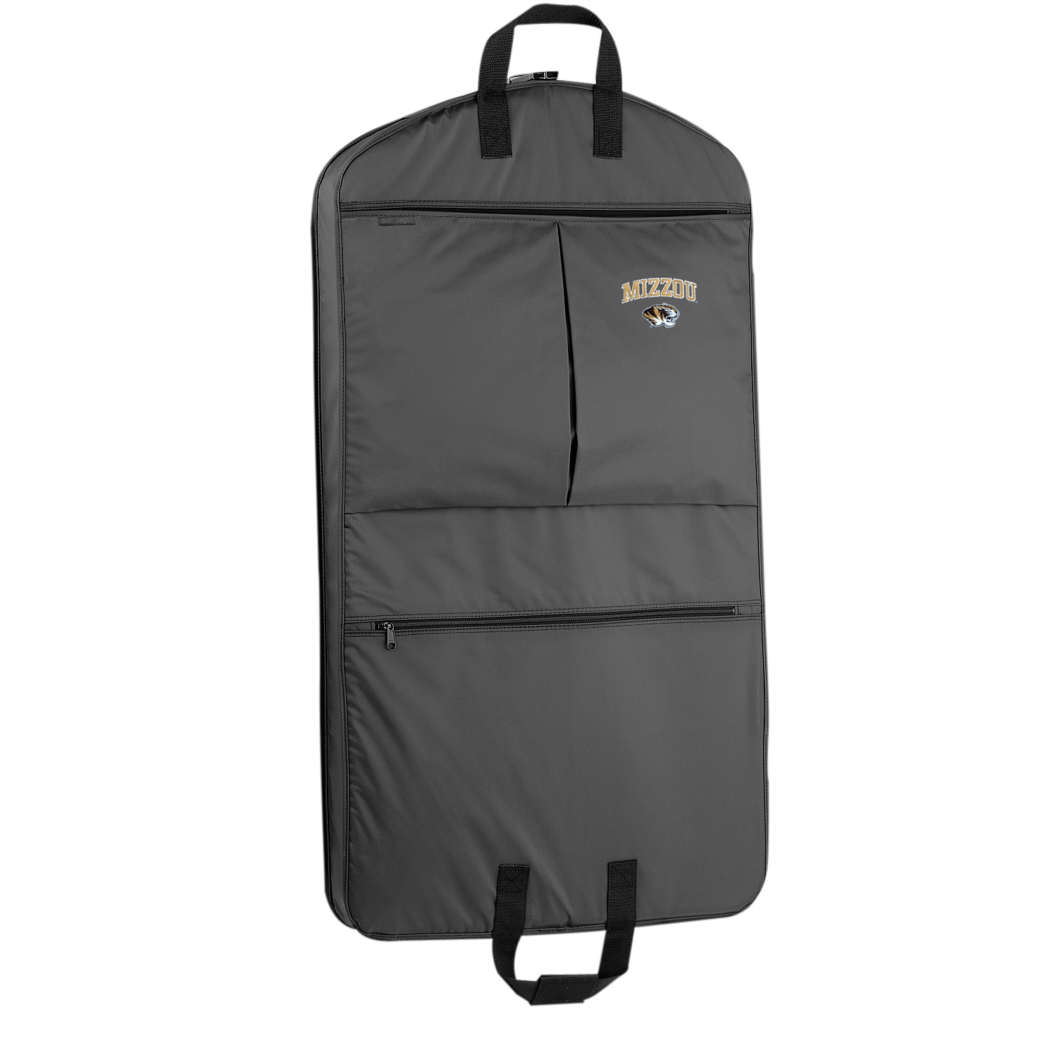 35b64cb652cf Shop WallyBags Missouri Tigers 40-inch Garment Bag With Pockets - Free  Shipping Today - Overstock.com - 12009748