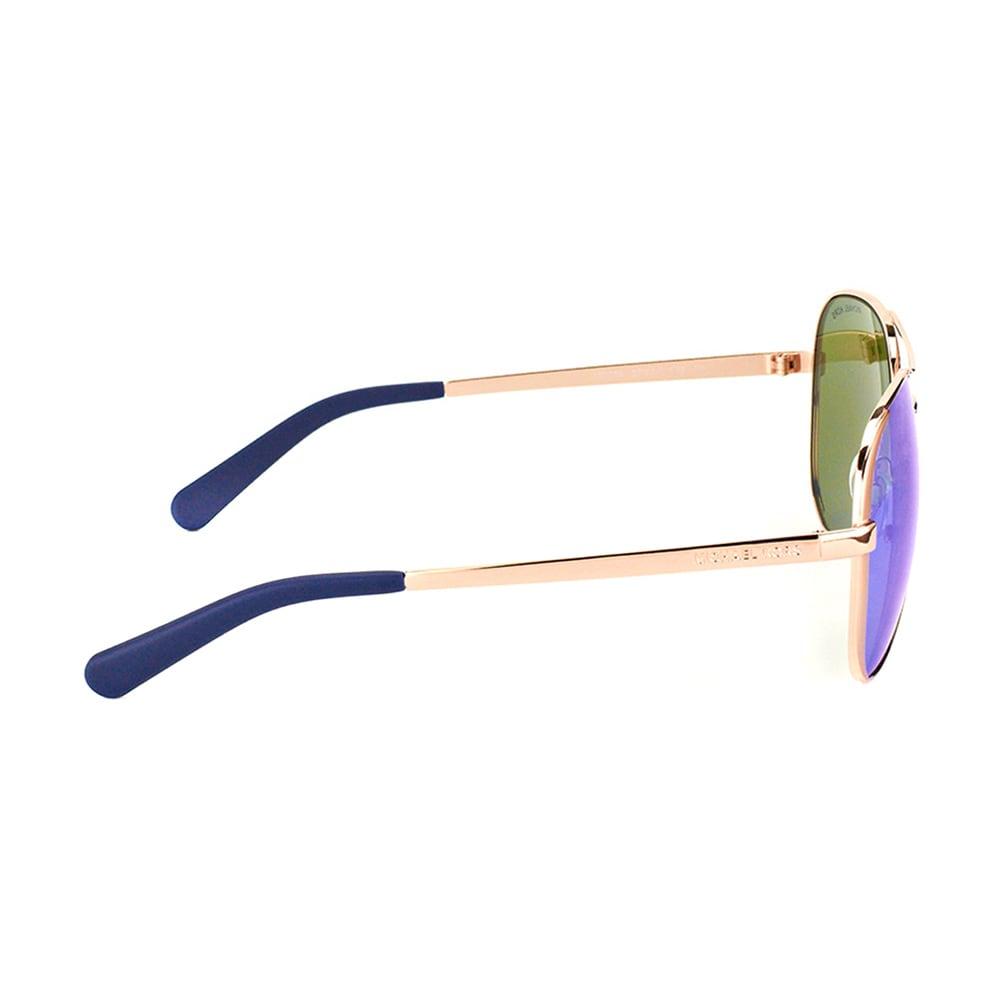 d820b7e54 Shop Michael Kors Chelsea Rose Gold Metal Aviator Blue Mirror Lens  Sunglasses - Free Shipping Today - Overstock - 12013544