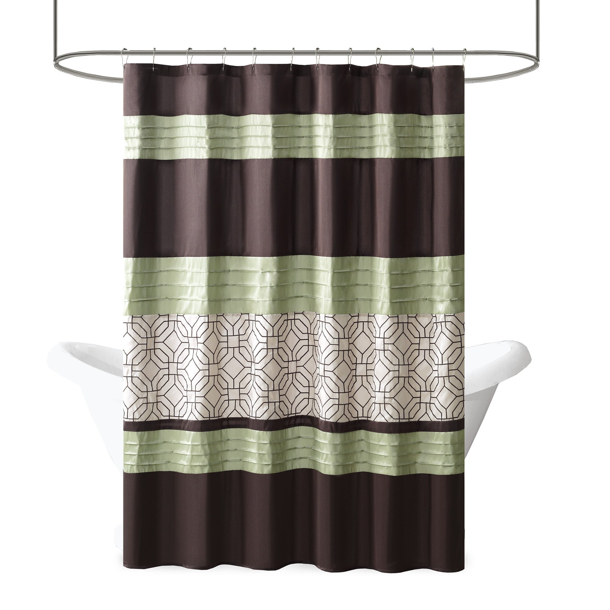 click shower p lace cone expand curtain southwestern curtains to pine