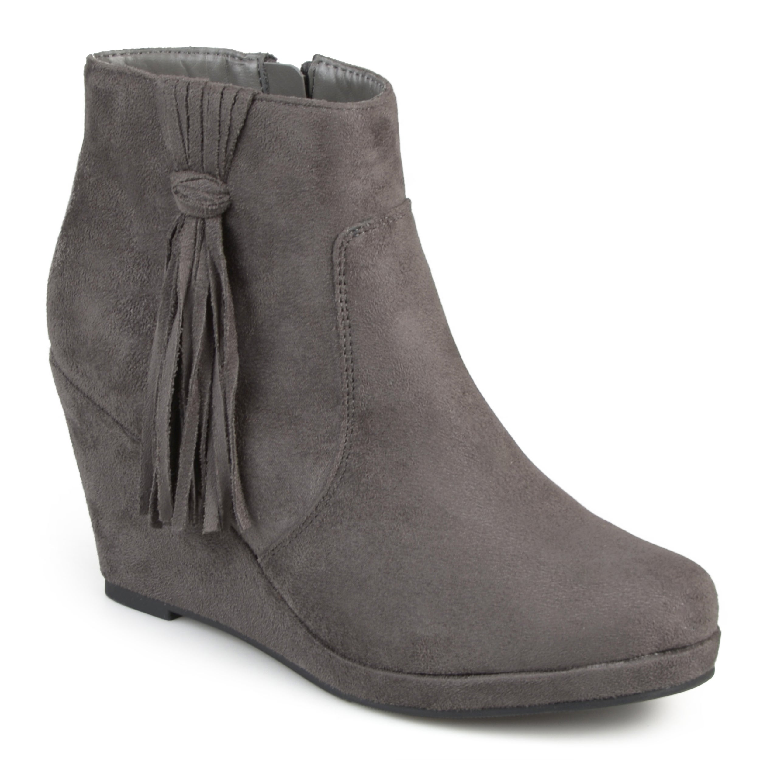 Journee Collection Ela Women's ... Wedge Ankle Boots 70ld8zuePn