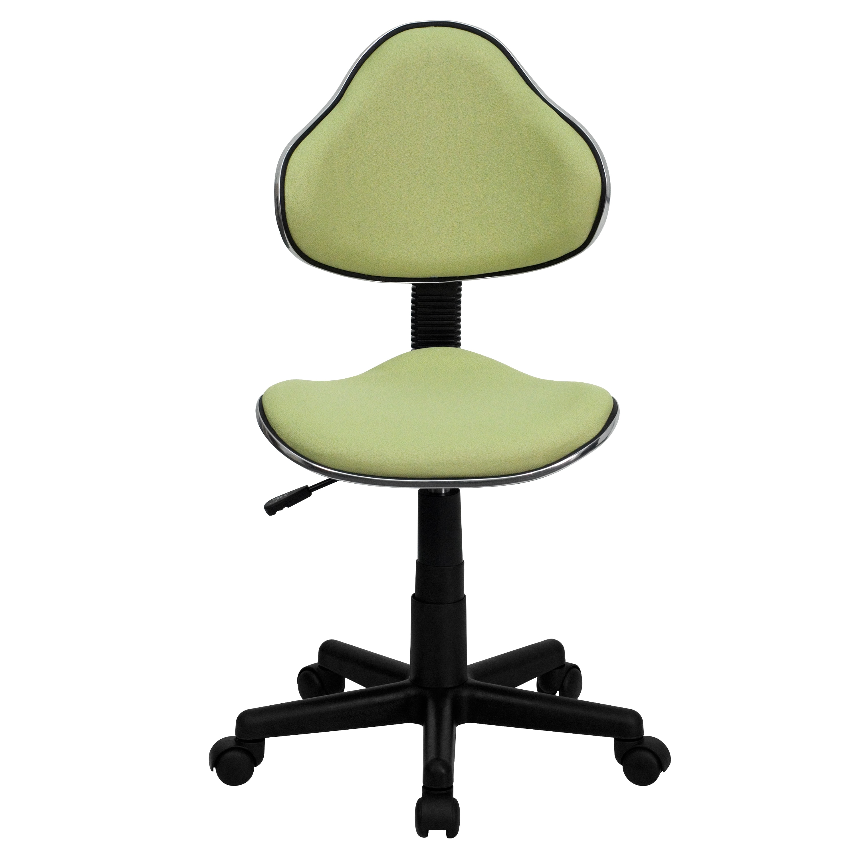 Art deco office chair Old Art Deco Green Fabric Adjustable Armless Swivel Office Chair Overstock Shop Art Deco Green Fabric Adjustable Armless Swivel Office Chair