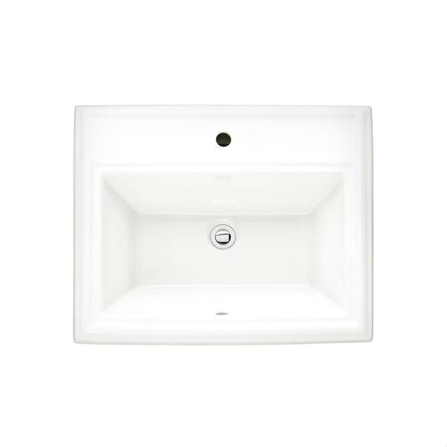 Shop American Standard Town Square Drop-in 0700.001.020 White Clay ...