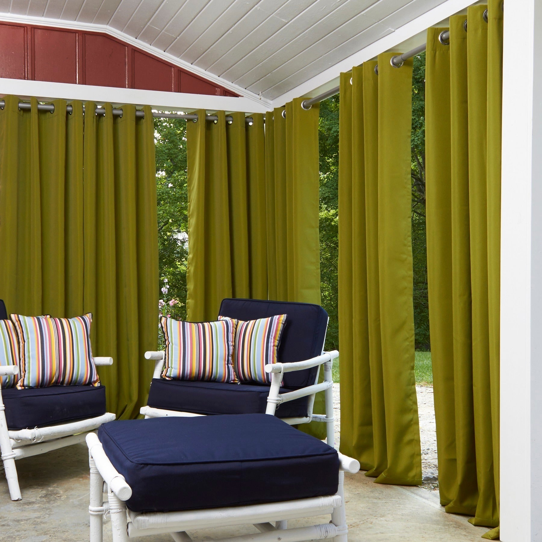 top curtain over on panels indoor garden orders overstock free shipping home grommet product panel outdoor
