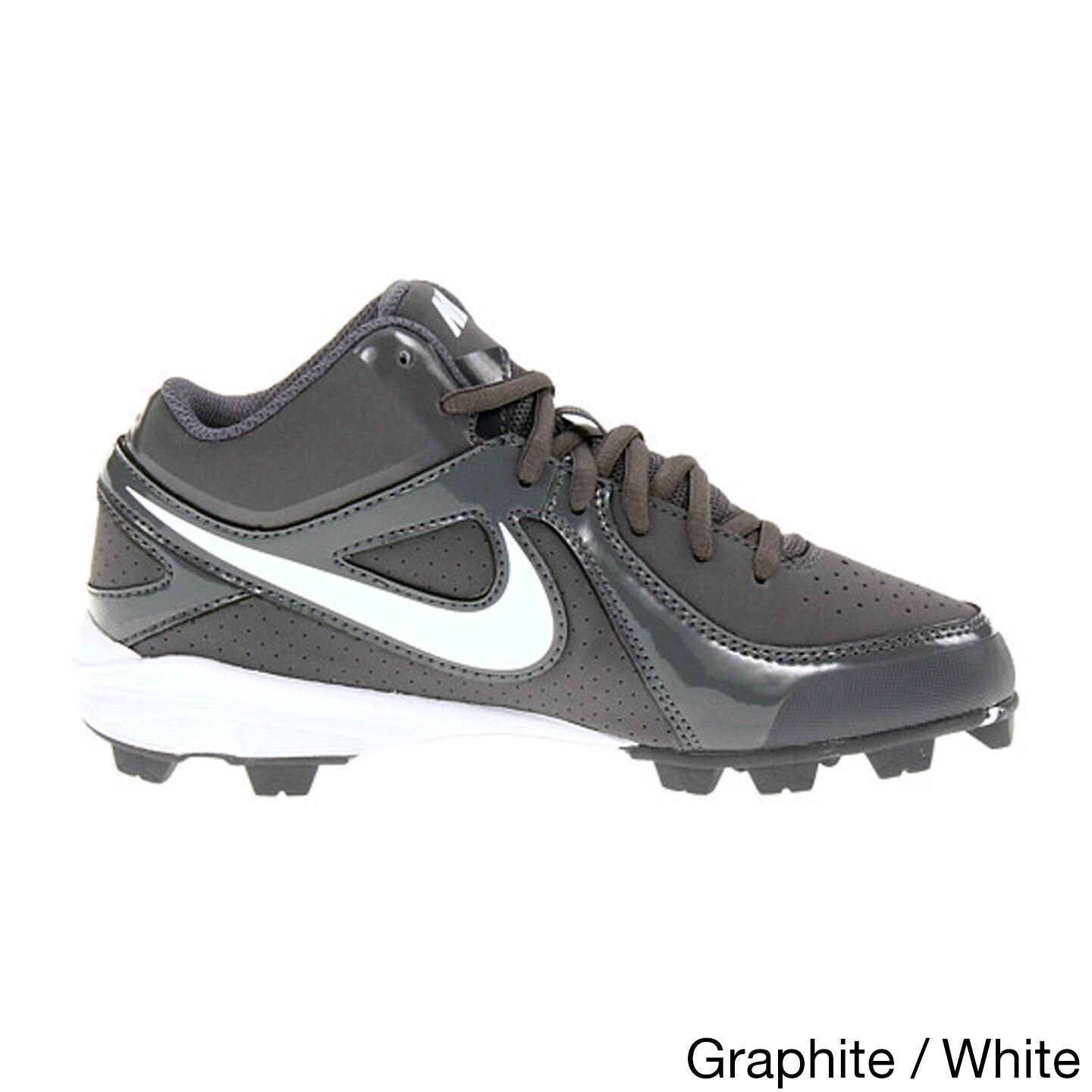 finest selection 38e4b 5029b Shop Nike Kids  MVP Keystone White Synthetic Baseball Cleats - Free  Shipping On Orders Over  45 - Overstock - 12027821