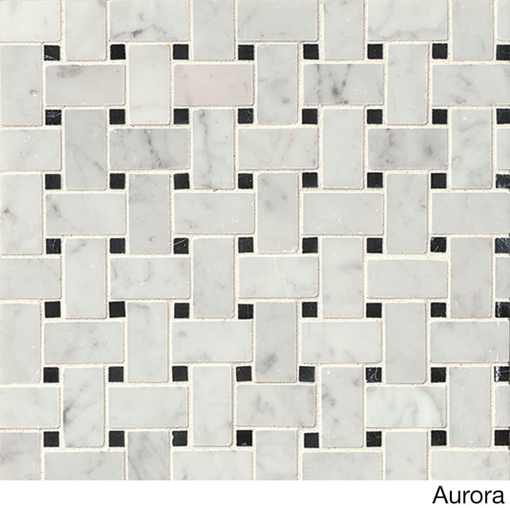 Bedrosians basket weave grey mosaic stone tile box of 10 sheets bedrosians basket weave grey mosaic stone tile box of 10 sheets free shipping today overstock 18904800 dailygadgetfo Choice Image