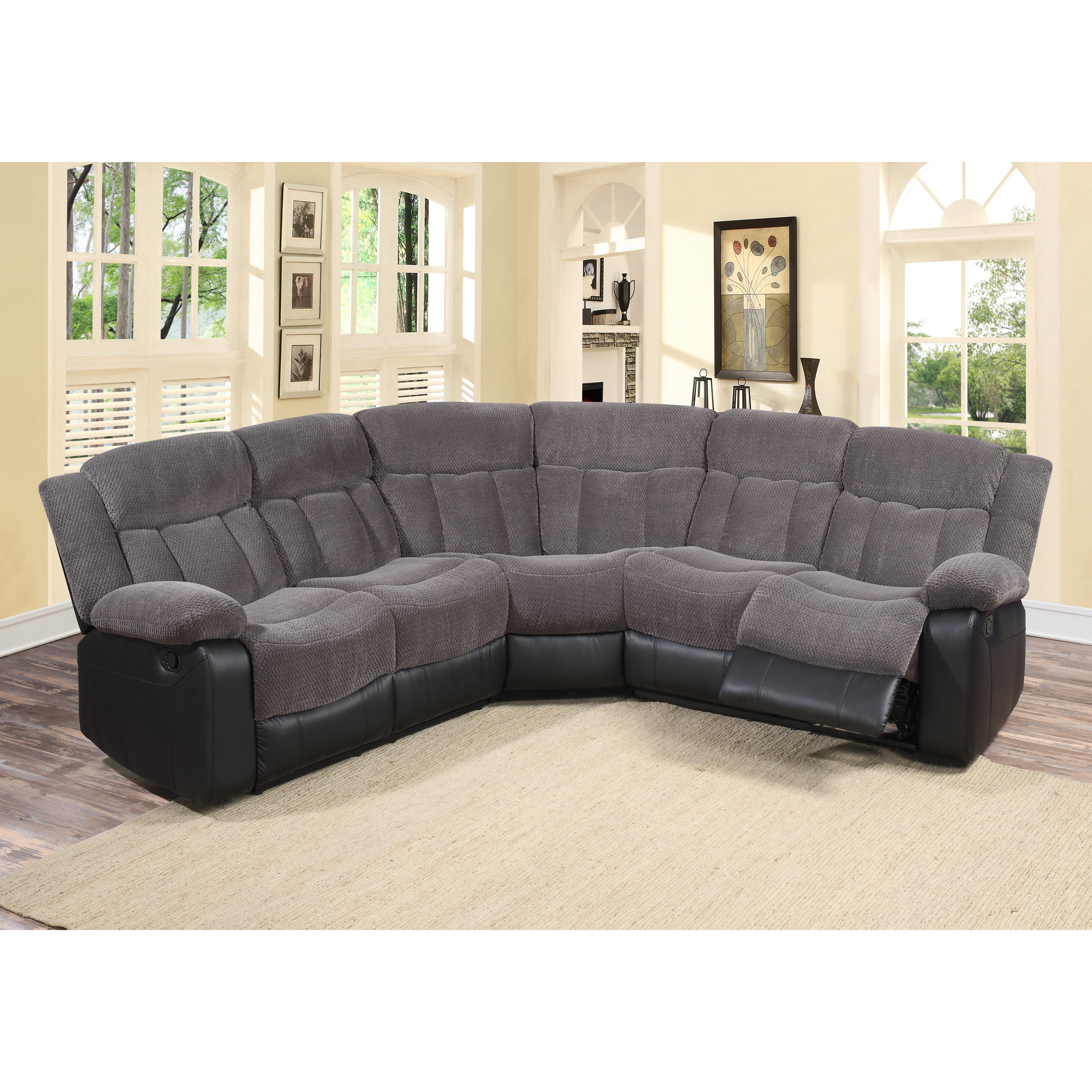 living sets ashford sofa gray livings piece room furniture of sectional landing pc