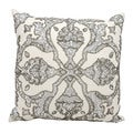 Mina Victory Luminescence Dawn White Throw Pillow by Nourison (16 x 16-inch)