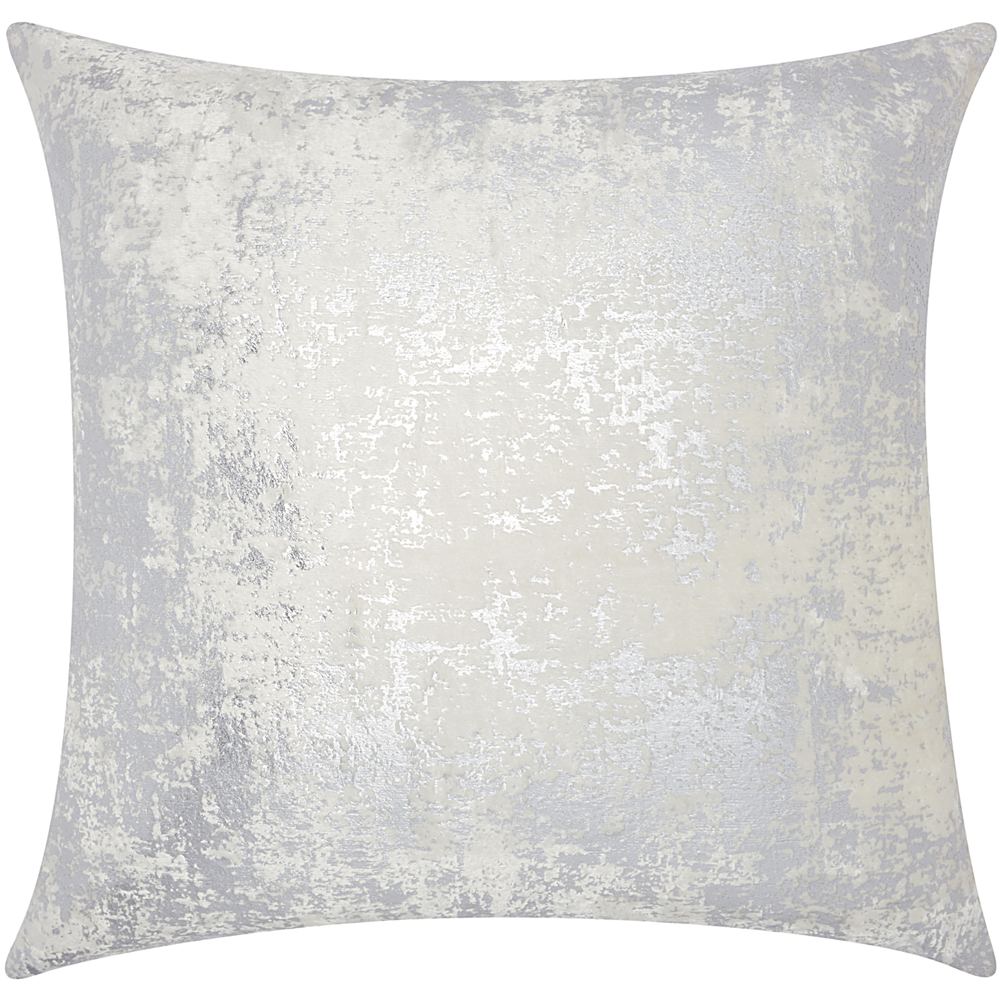 Shop Mina Victory Luminescence Distressed Metallic Silver Throw