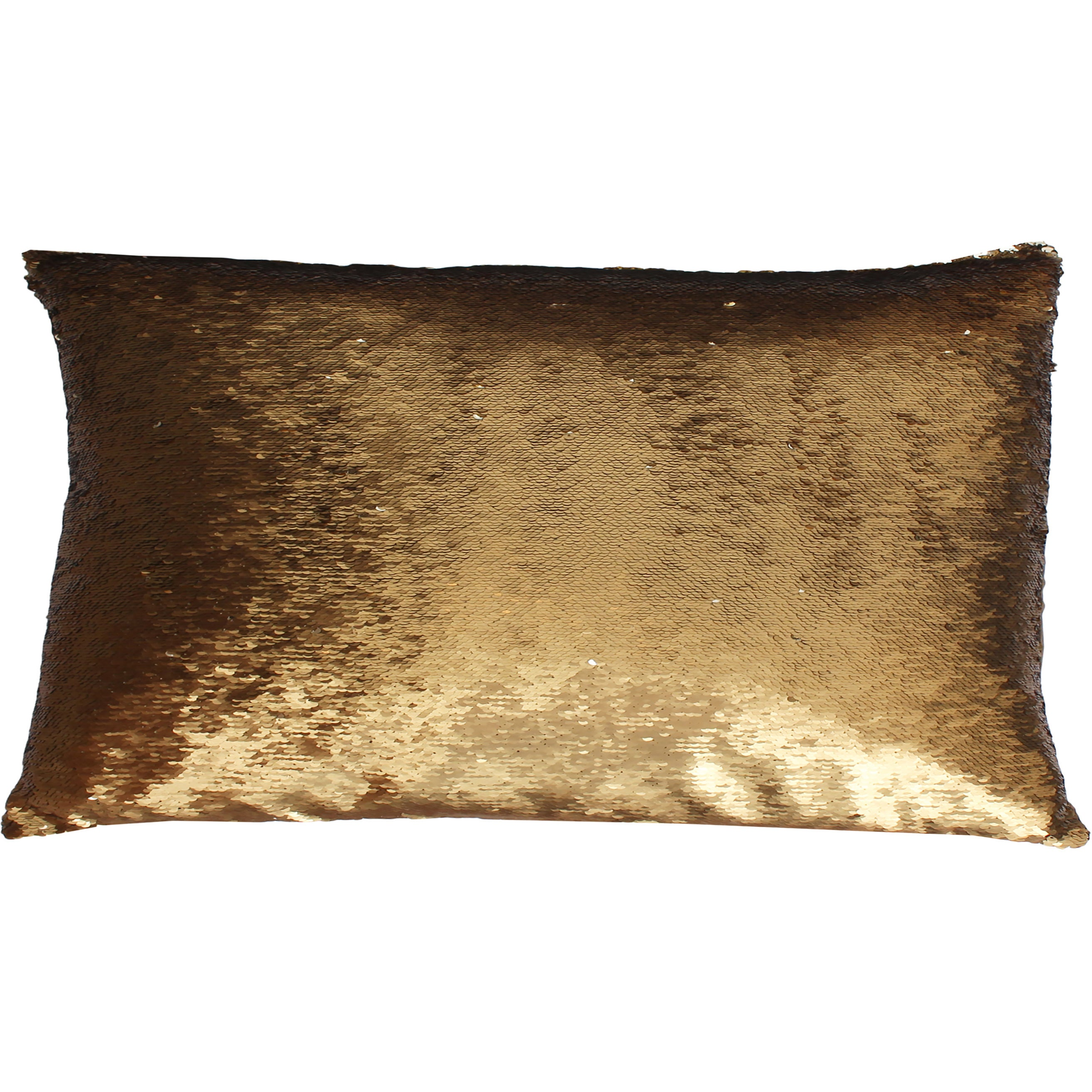 Melody Mermaid Reversible 17x17-inch Oblong Sequin Throw Pillow ...