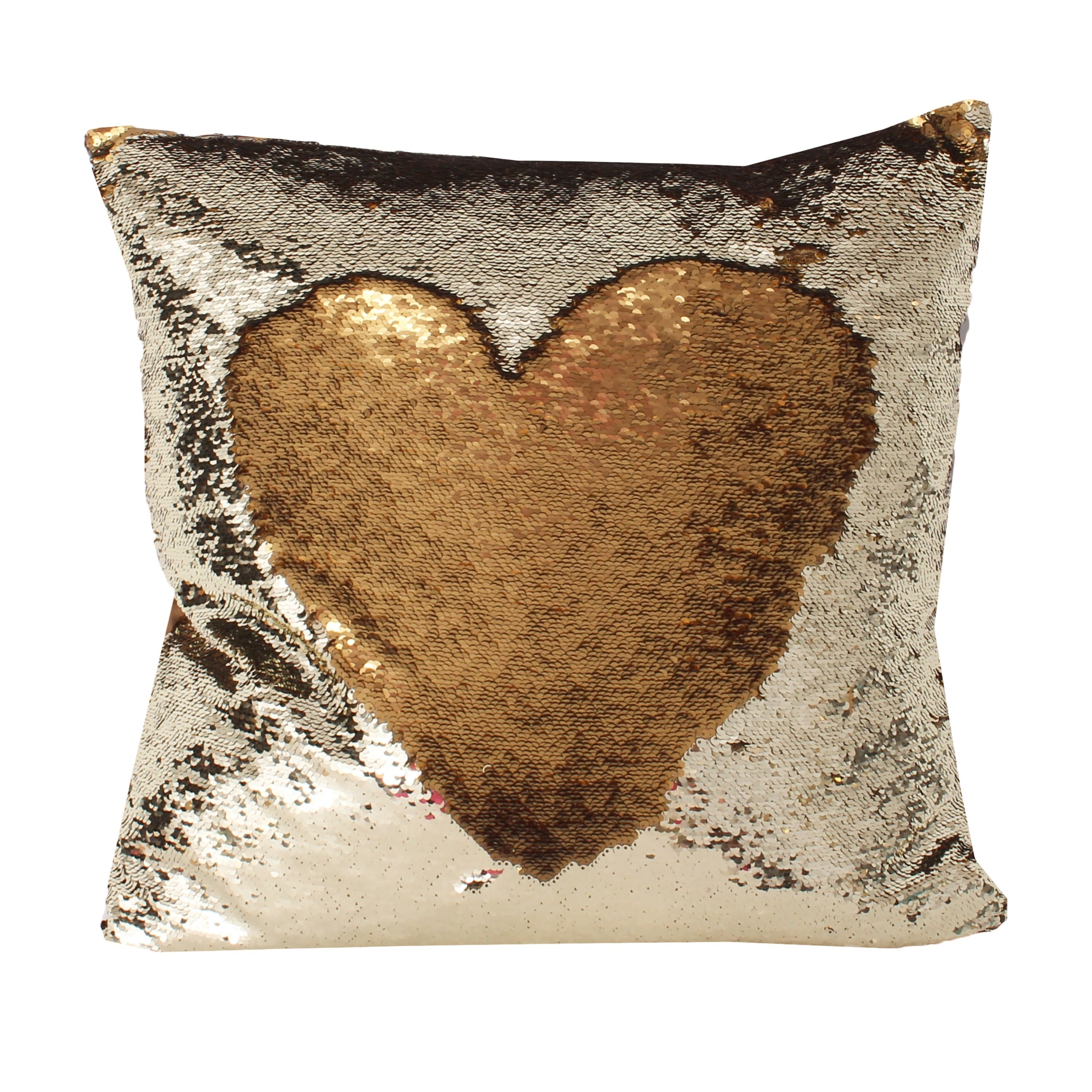 Well-liked Melody Mermaid Reversible Sequin 20-inch Feather-filled Pillow  NV79