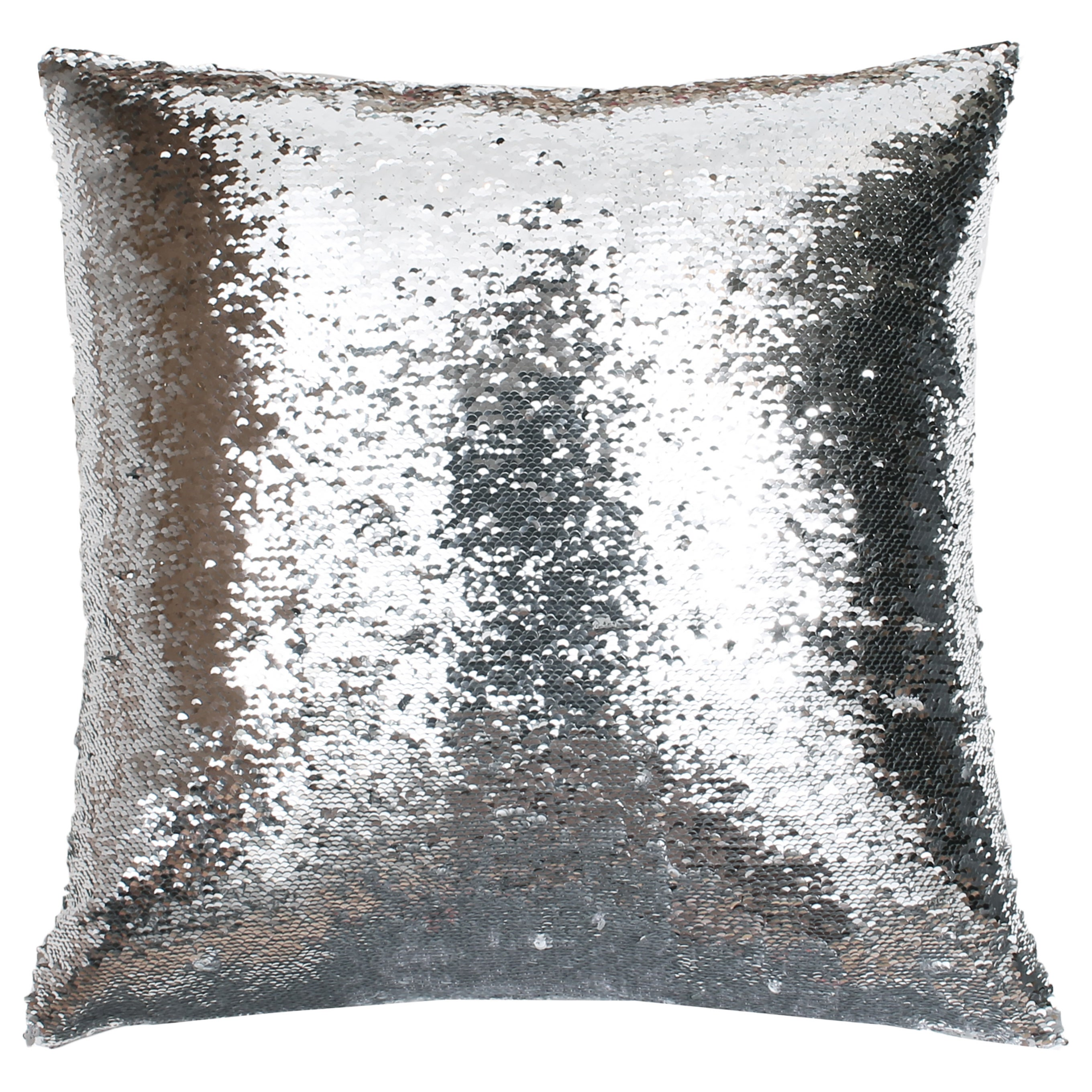 Very Melody Mermaid Reversible Sequin 20-inch Feather-filled Pillow  TO94
