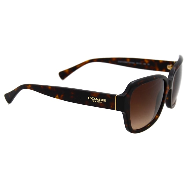 d1f2467b53e30 Shop Coach HC8160 512013 - Dark Tortoise by Coach for Women - 56-17-135 mm  Sunglasses - Free Shipping Today - Overstock - 12038804