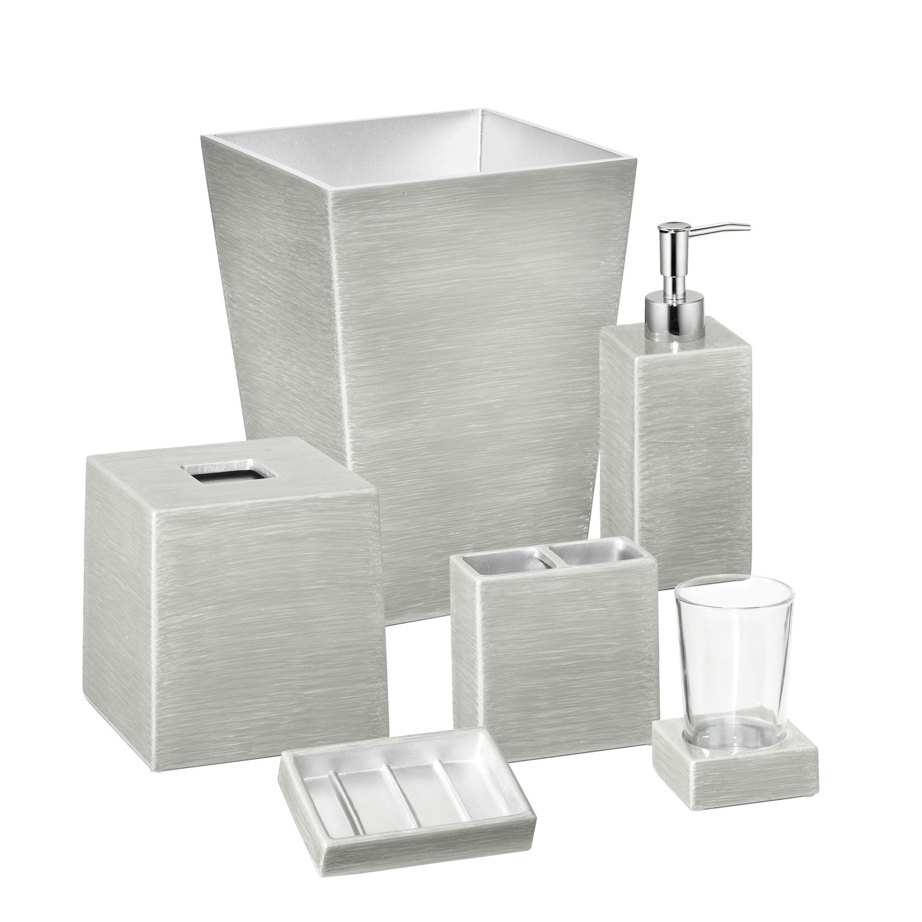Shop Mike and Ally Venetian Designer Hand Enameled Bath Accessory ...