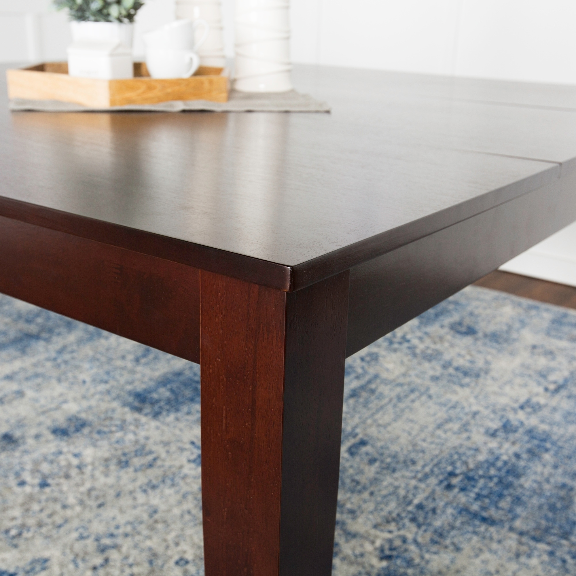 Shop 60 Square Dining Table Cappuccino N A On Sale Free