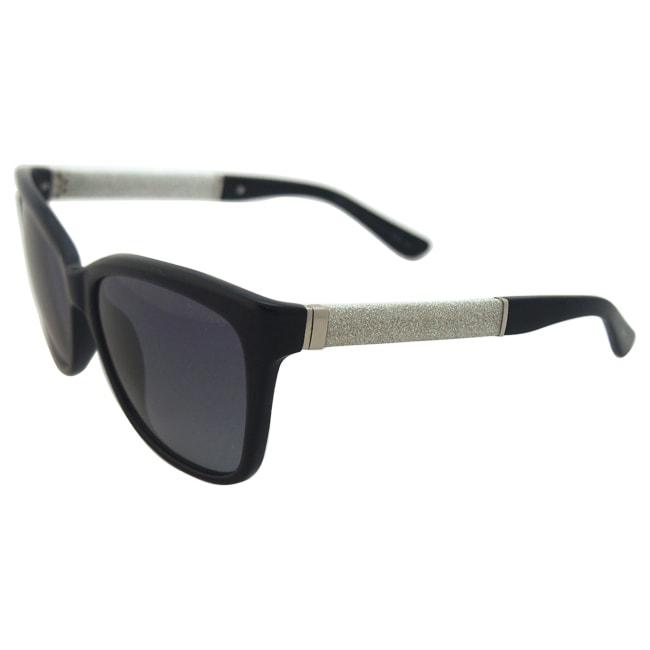 4433140f8b3 Shop Jimmy Choo Cora S FA3HD - Glitter Black by Jimmy Choo for Women -  56-16-135 mm Sunglasses - Free Shipping Today - Overstock - 12043049