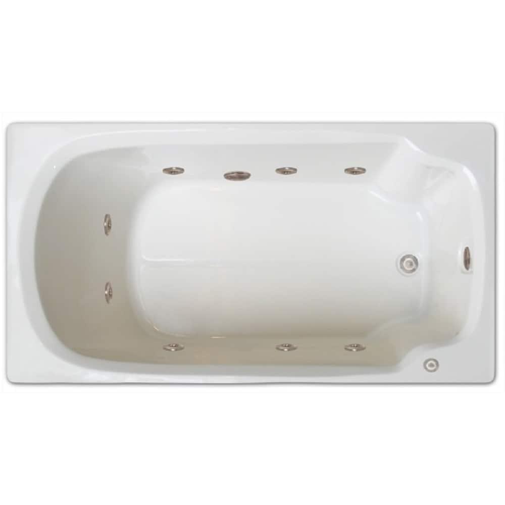 Shop Signature Bath Drop-in Whirlpool Bath - Free Shipping Today ...
