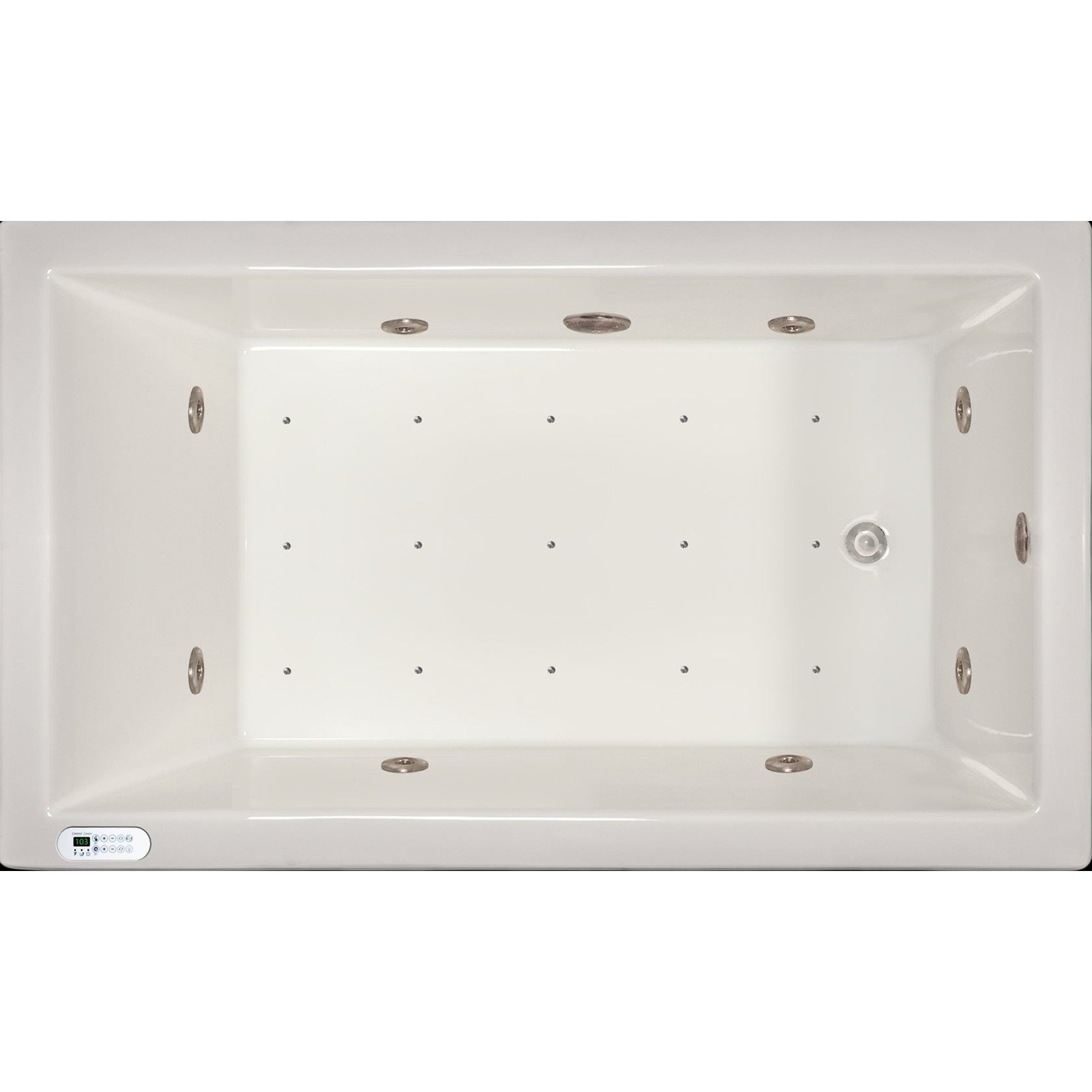 Shop Signature Bath White Acrylic Drop-in Whirlpool Combo Tub with ...