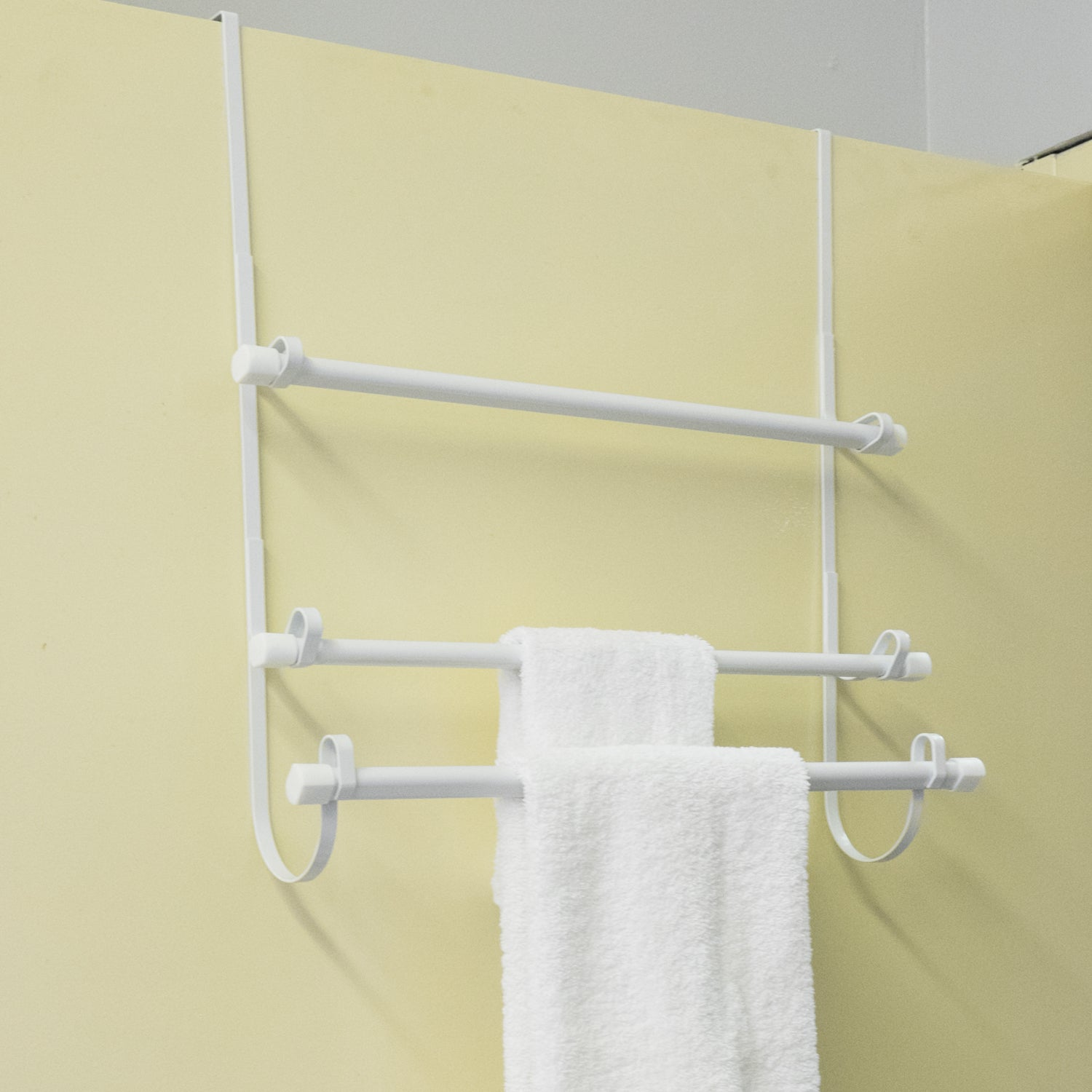 Over The Door Towel Rack White On Free Shipping Orders 45 12045932