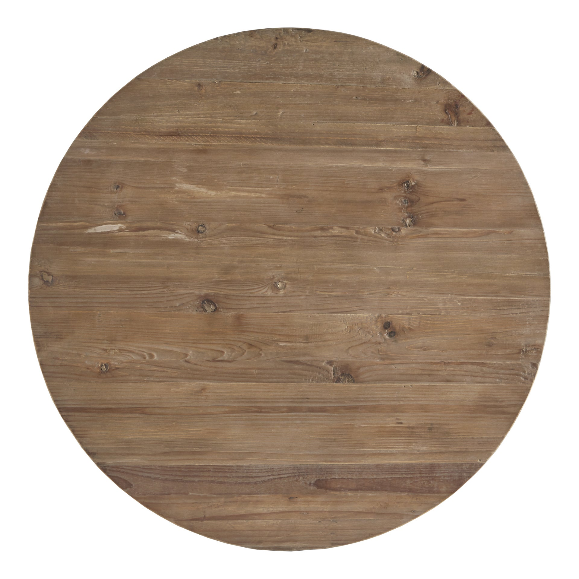 Hatteras Drum Reclaimed Woodblock Barrel Coffee Table by iNSPIRE Q Artisan  - Free Shipping Today - Overstock.com - 18916768