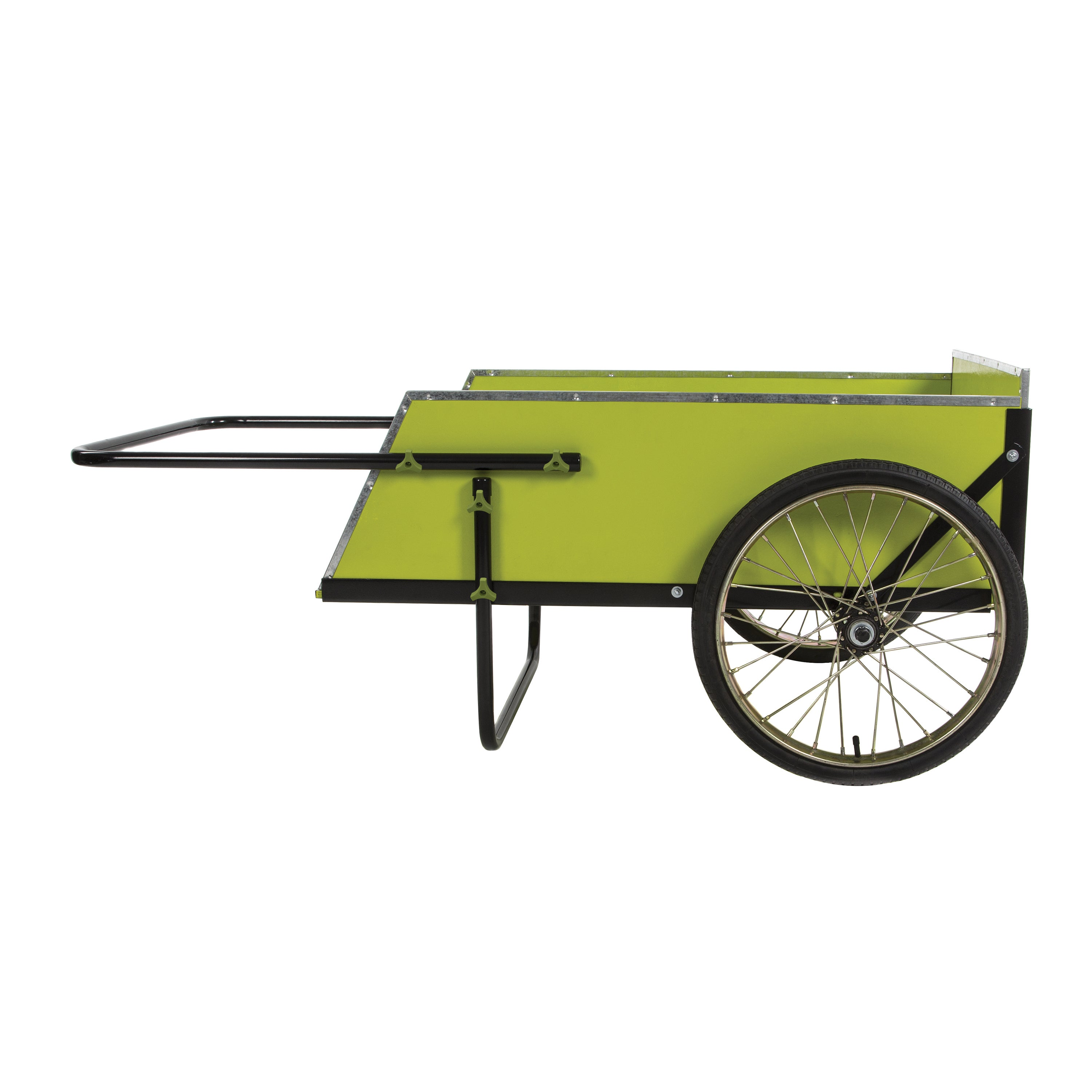 shop sun joe sjgc7 7 cubic foot heavy duty garden utility cart free shipping today overstockcom 12047334 - Garden Utility Cart