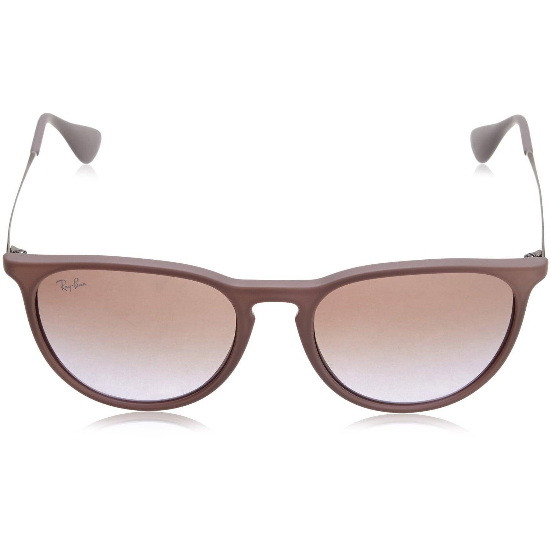 02e649a93b6 Shop RayBan Women s 54MM Erika Wayfarer Sunglasses (Rubber Sand Frame Brown  Violet Gradient Lens) - Free Shipping Today - Overstock - 12048659